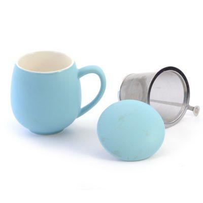 Cană ceai albastru deschis Saara DB&Tea