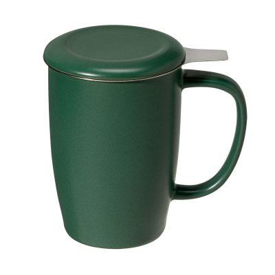 Cana ceai Sienna 0.4 l verde mat